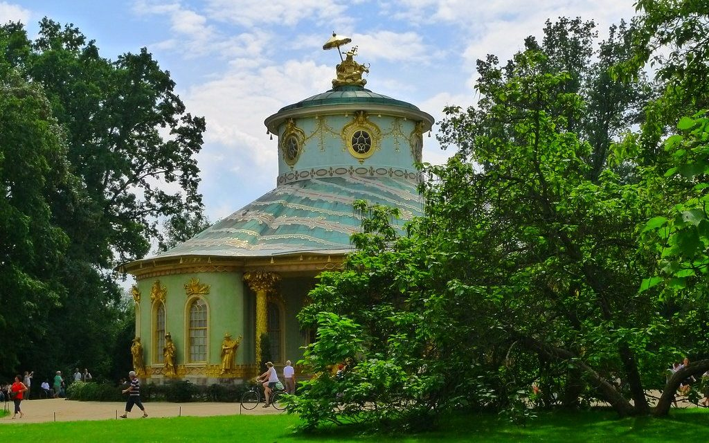 Chinese house in Sanssouci Park