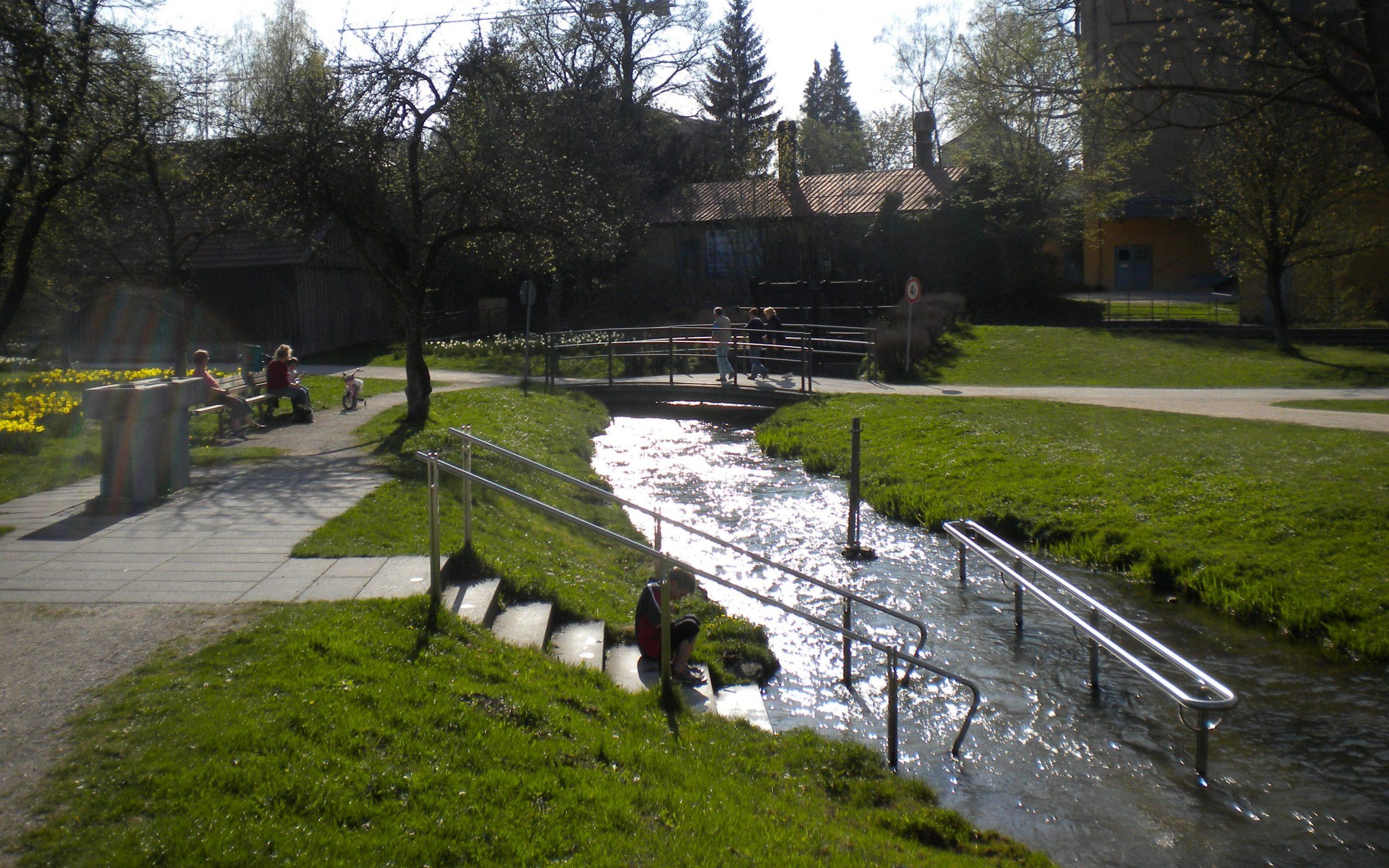 Memmingen Stadtpark Neue Welt