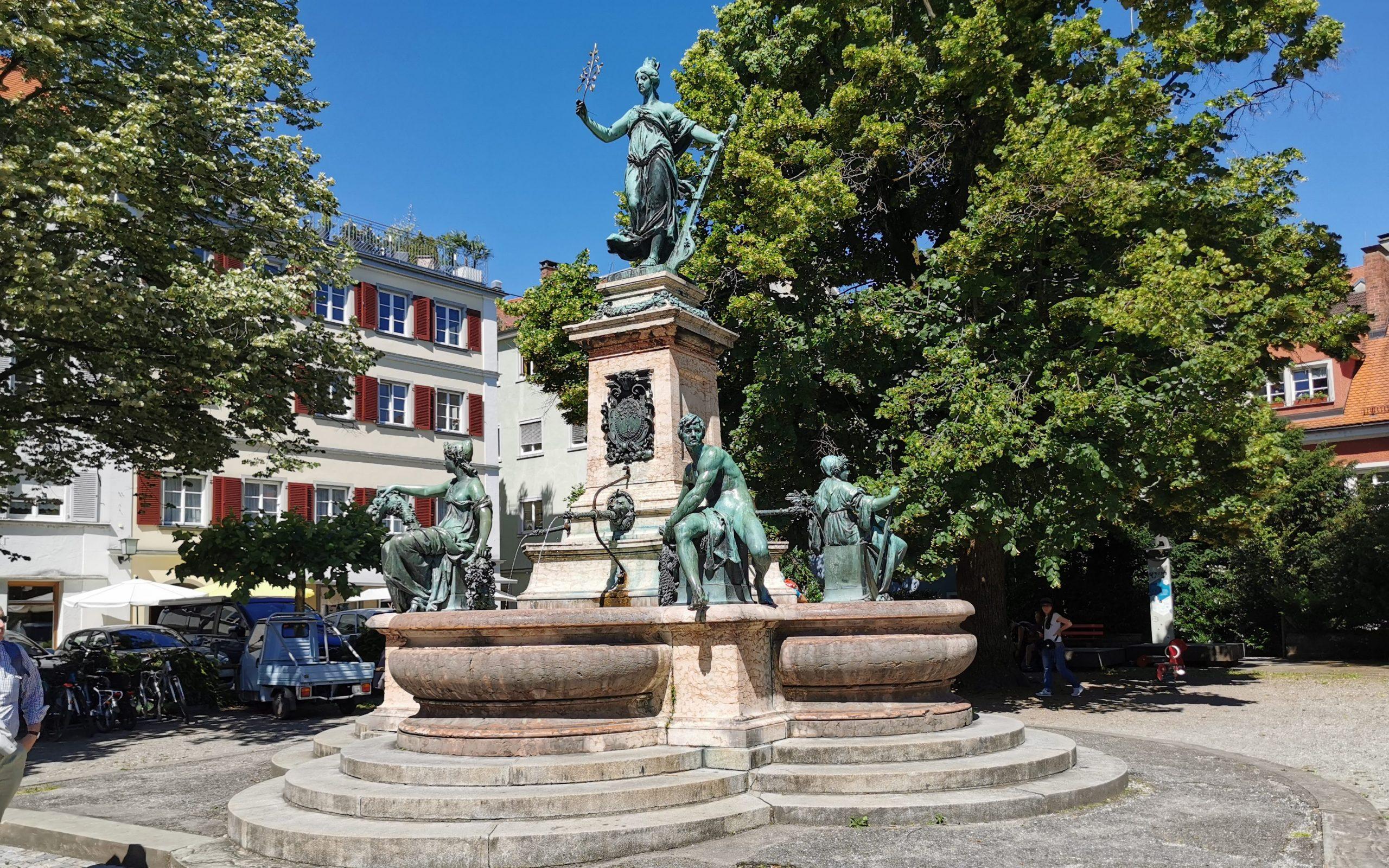 Lindavia Brunnen