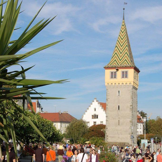 Mangturm at Lindau harbour