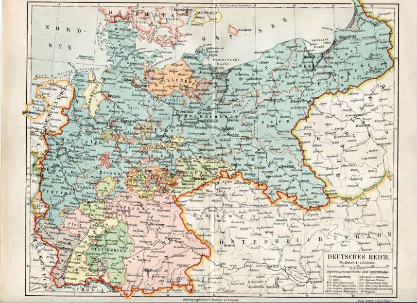 Germany German Atlas