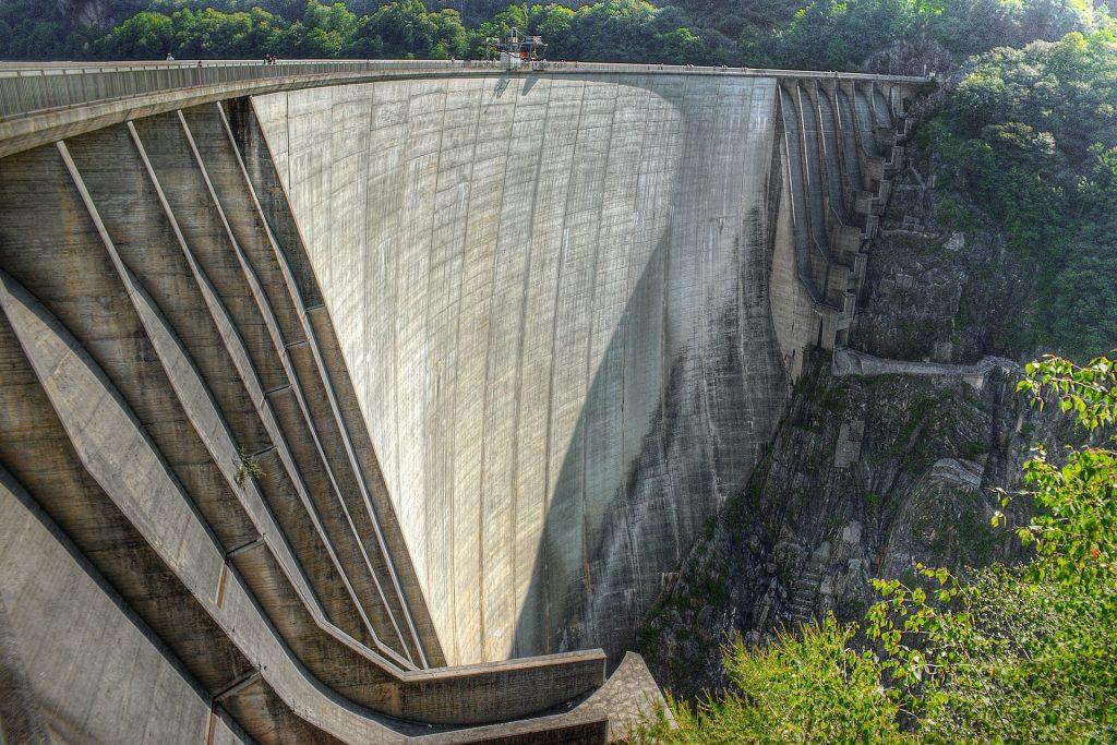 Verzasca Dam and River